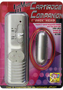 Intimate Iii Cartridge Companion 2 Jack Head Silver