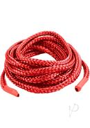 Japanese Silk Love Rope 16 Feet Red