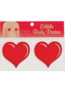 Edible Body Pasties Cinnamon Heart