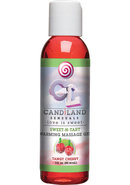 Candiland Sensuals Sweet N Tart Warming Massage Gel Tangy...