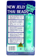 New Jelly Thai Beads Green