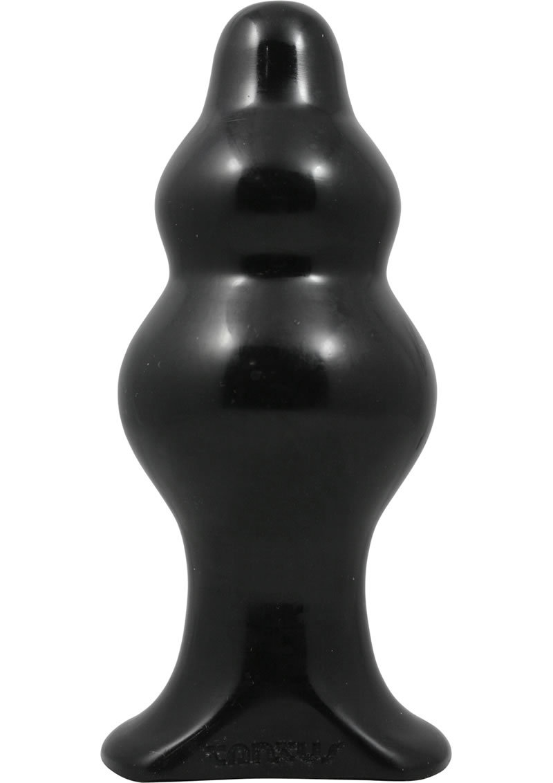 Severin Large Silicone Anal Plug 5.7 Inch Black