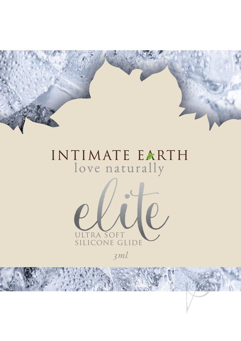 Intimate Earth Elite Ultra Soft Silicone Shiitake Glide 3 Milliliter Foil Pack